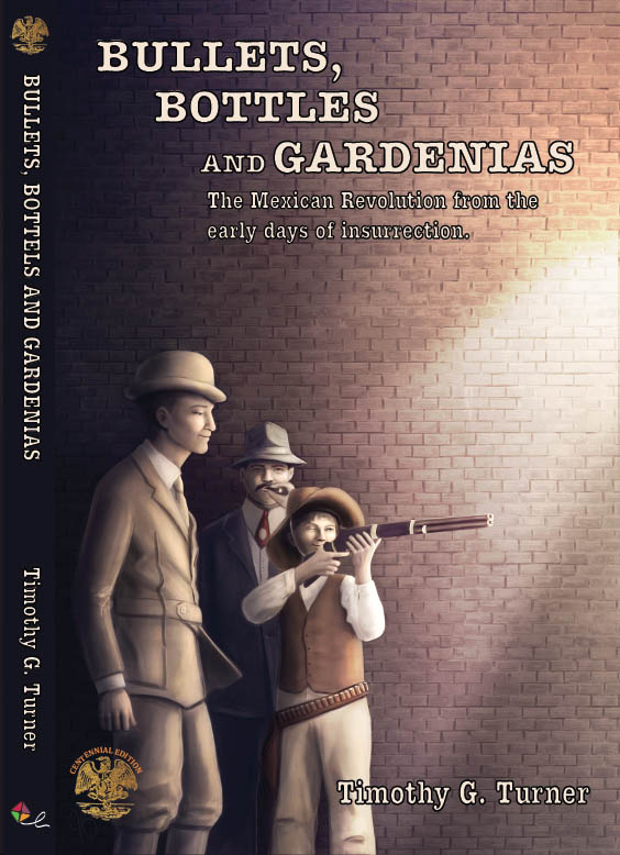 Bullets, Bottles and Gardinias Book Front Cover - ISBN 9781610120043